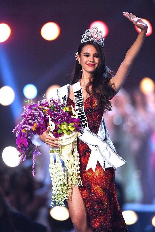 Catriona je Filipínka s americkými kořeny. Její otec je Američan.