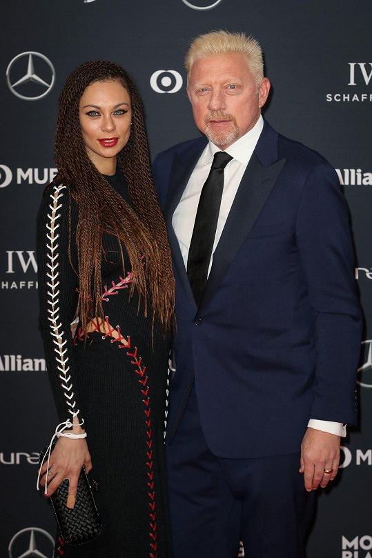 Lilly Becker s manželem Borisem před pár dny na párty v Monte Carlu