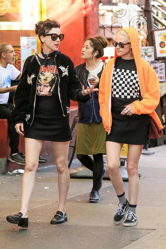 Kristen Stewart a St. Vincent v New Yorku