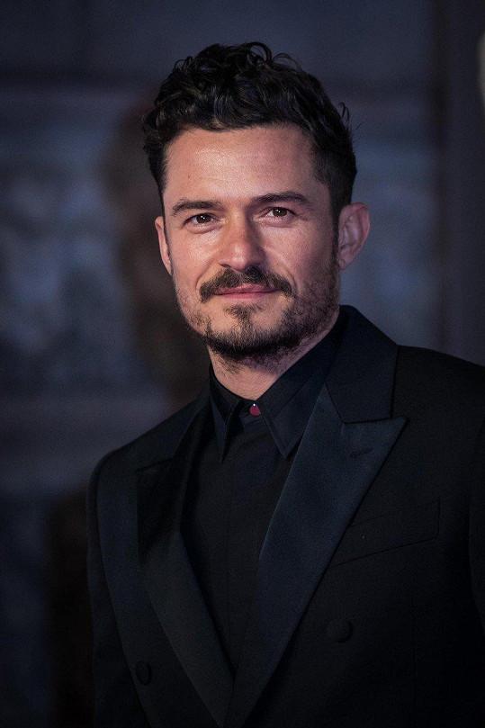 Herec si v neděli zaletěl do Londýna na udílení cen BAFTA.