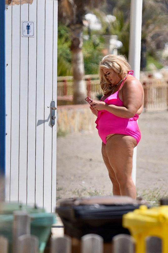 Gemma Collins má v mobilu svoje erotické video.