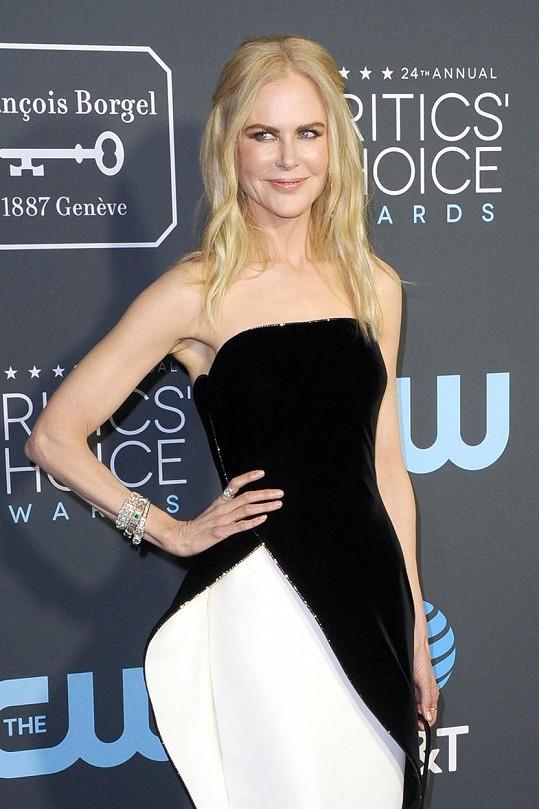 Nicole Kidman přijdou děsiví pro změnu motýli.