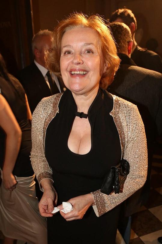 Magda Vášáryová už herectví pověsila na hřebík.