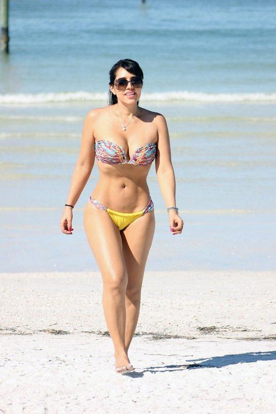 Andrea Calle dříve soutěžila v bodybuildingu.