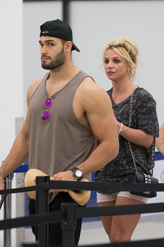 S partnerem Samem Ashgarim často společně trénují.