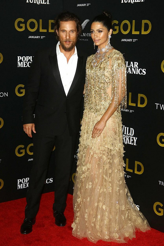Matthew McConaughey a Camila Alves