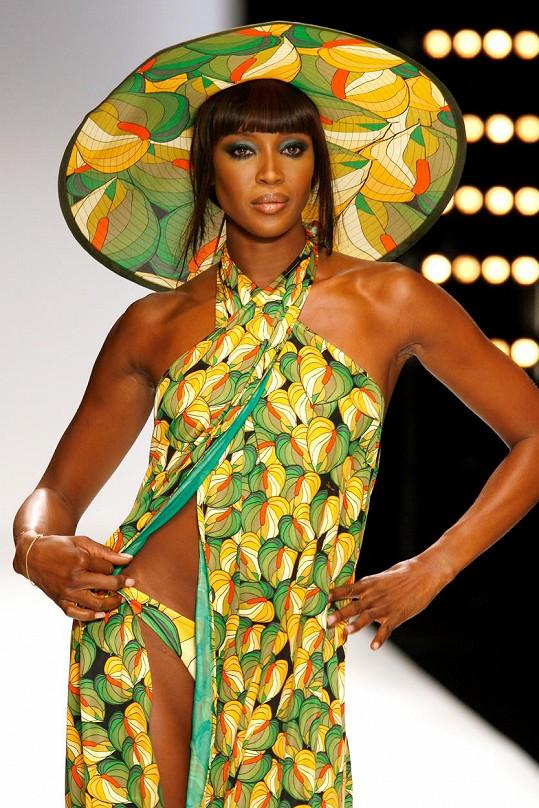 Naomi je stálicí na modelingovém výsluní už přes pětadvacet let.