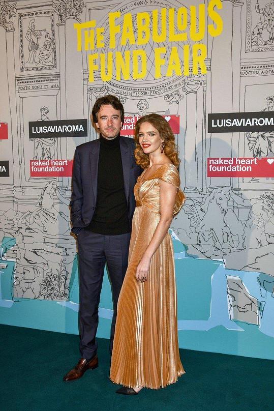 Natalia Vodianova s partnerem Antoinem Arnaultem