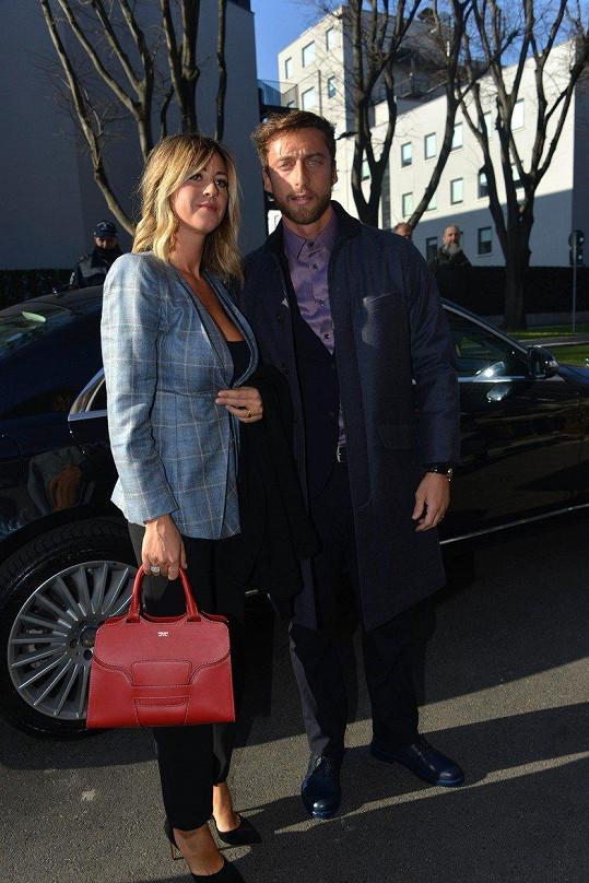 Roberta Sinopoli a Claudio Marchisio tvoří krásný pár.