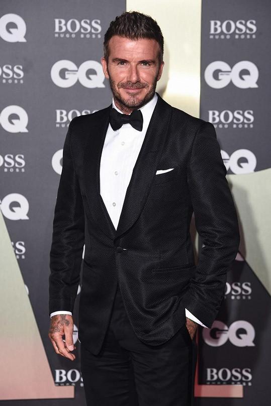 David Beckham se bojí žab a nepořádku.