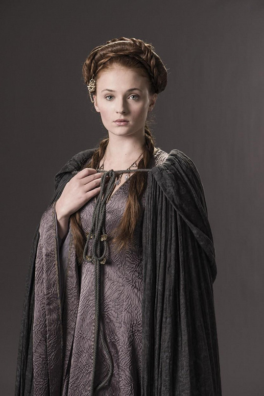 Sophie se nejvíc proslavila rolí v seriálu Hra o trůny.