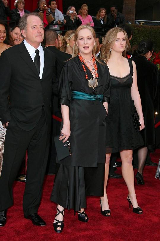 S rodiči Meryl Streep a Donem Gummerem
