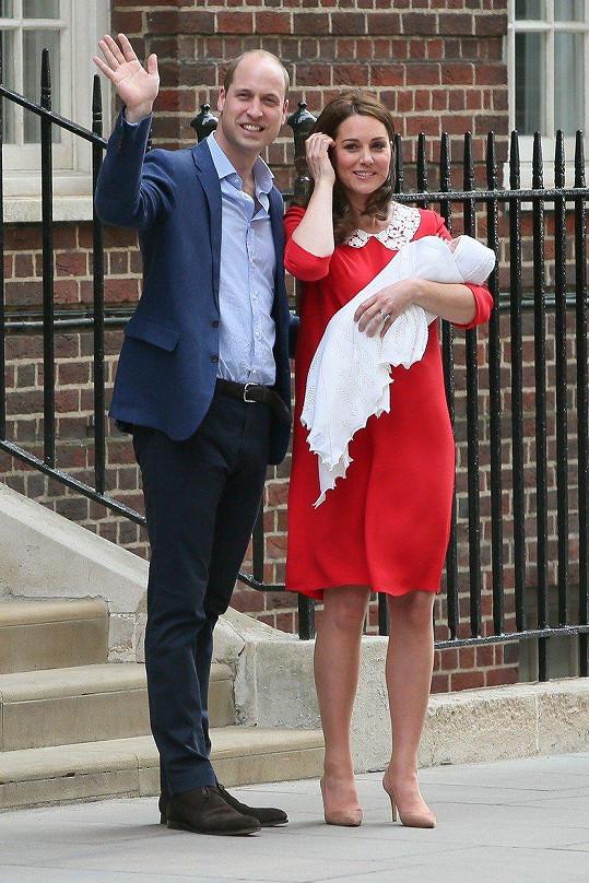 Kate a William se letos dočkali třetího dítěte, syna Louise.