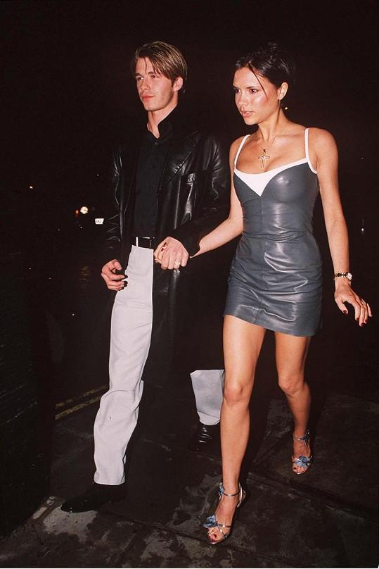 David a Victoria se poznali v roce 1997.
