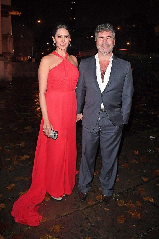 Simon Cowell s partnerkou Lauren Silverman