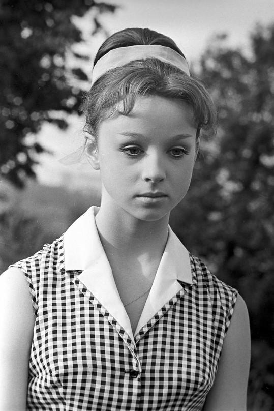 Natalja Sedych si v Mrazíkovi zahrála Nastěnku.