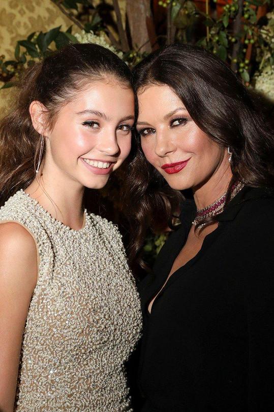 Catherine Zeta-Jones má krásnou dceru.
