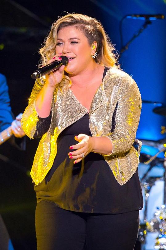 Kelly Clarkson bojovala s váhou dlouhodobě.