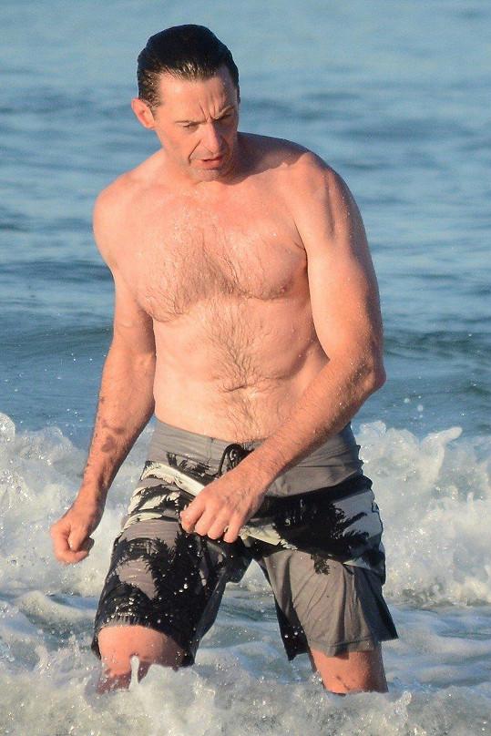 Hugh Jackman je v dobré formě.