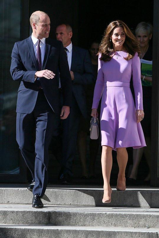 Kate a William navštívili summit duševního zdraví.