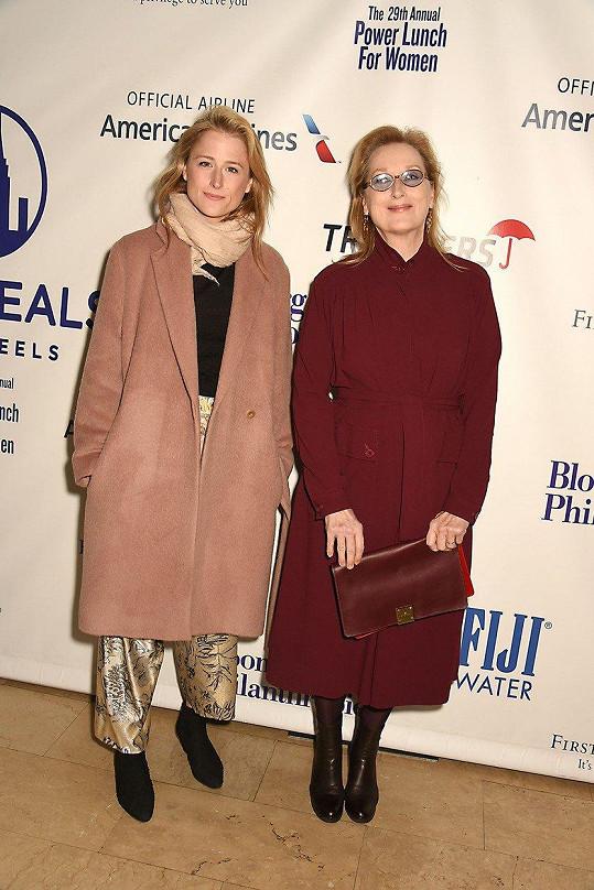MamieGummer udělala z herečky Meryl Streep babičku.