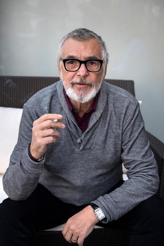 Nechyběl ani její filmový otec Jiří Bartoška.