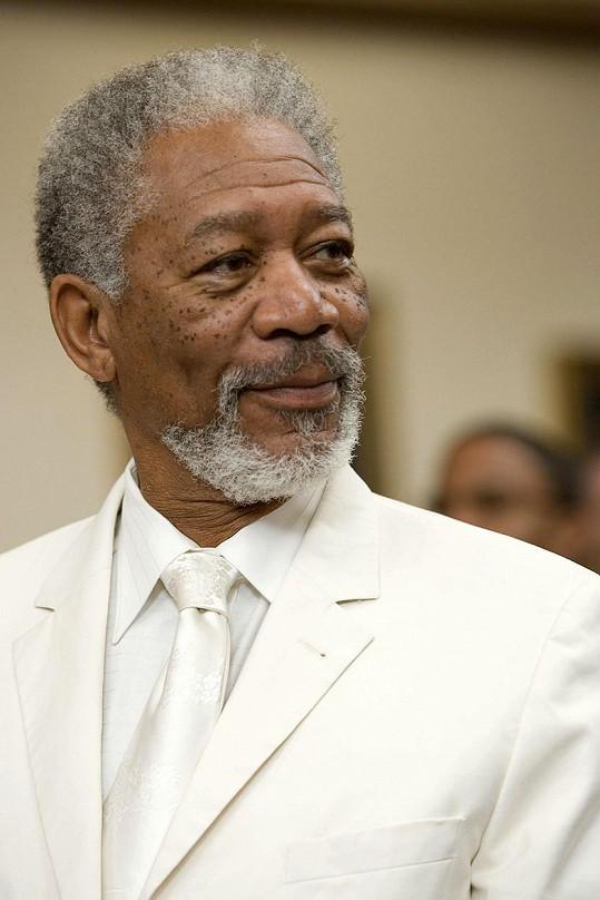 Morgan Freeman se živil jako poslíček.