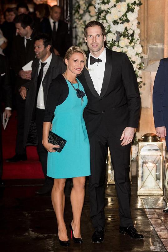 Manželé loni na svatbě Franka Lamparda
