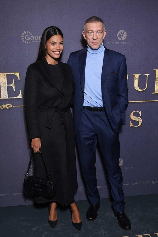 Hereččin exmanžel Vincent Cassel má ještě mladší ženu Tinu Kunakey.