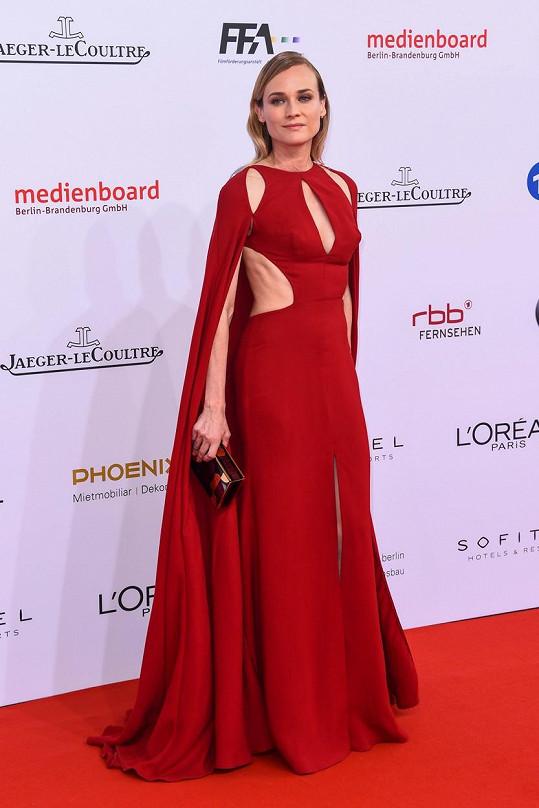 Diane Kruger působila nezdravě vyhuble.