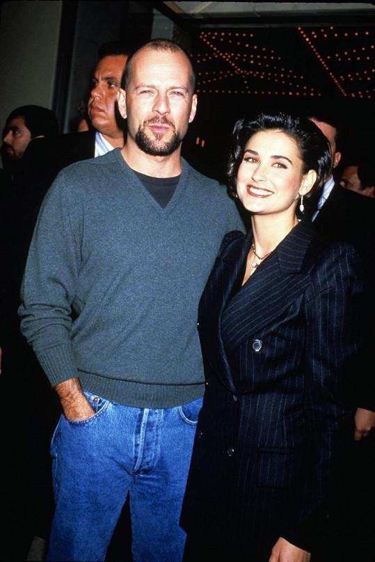 Demi Moore a Bruce Willis prosluli tím, jak blízcí si stále jsou.