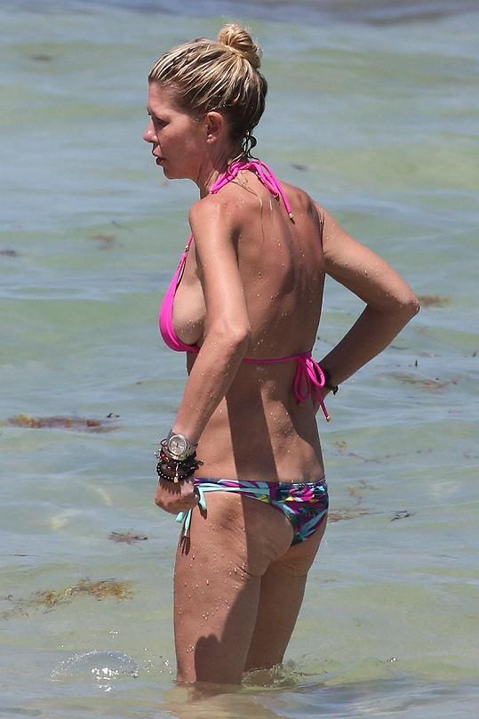 Na konto její hubenosti bylo napsáno mnoho. Anorexii herečka odmítá.