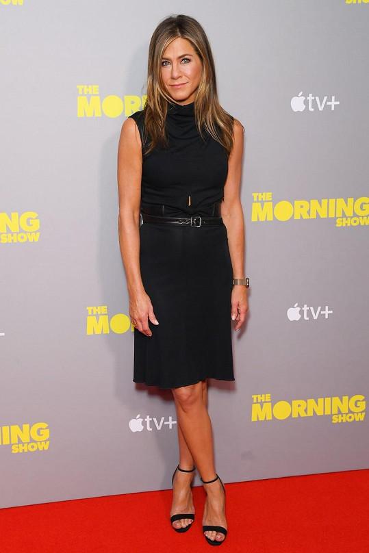 Jennifer Aniston péči o svůj zevnějšek rozhodně nepodceňuje.