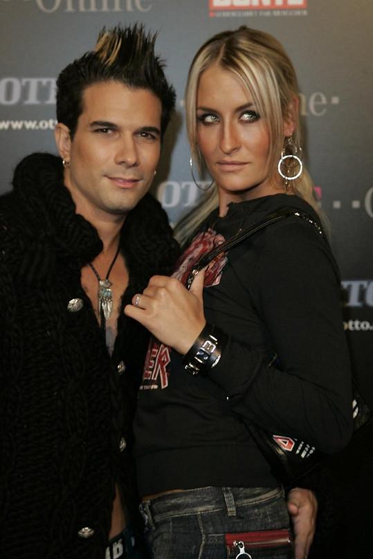 Sarah s bývalým manželem Marcem Terenzim