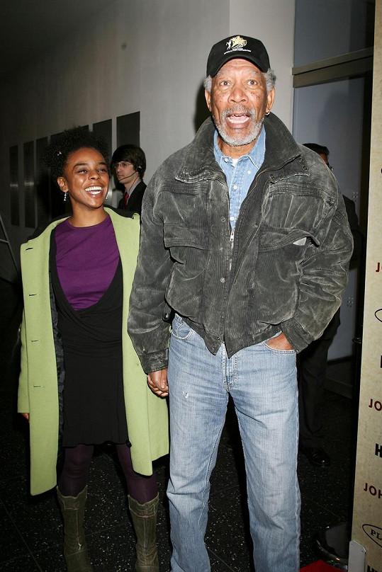 V roce 2008 vzal Freeman vnučku na premiéru seriálu John Adams.