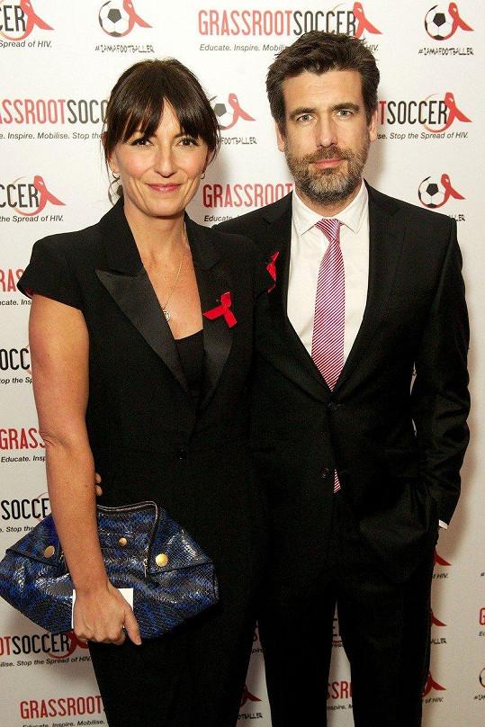 Davina McCall a Matthew Robertson