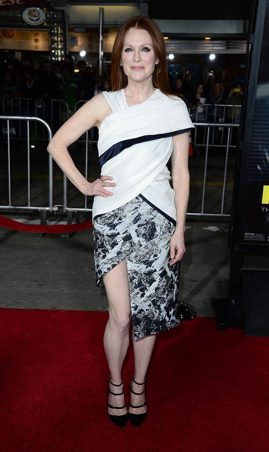 Julianne Moore na filmové premiéře