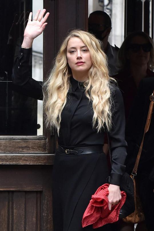 Mezi svědky právního sporu figurovala také Deppova exmanželka Amber Heard.