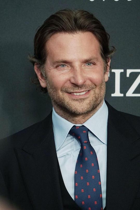 Bradley Cooper se s 91,08 % probojoval na třetí příčku.