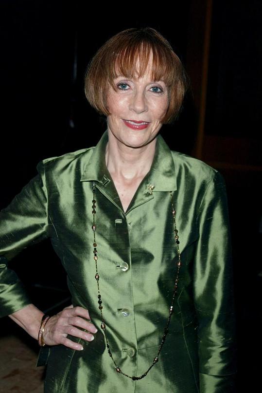 Patricia Elliott na fotce z roku 2003