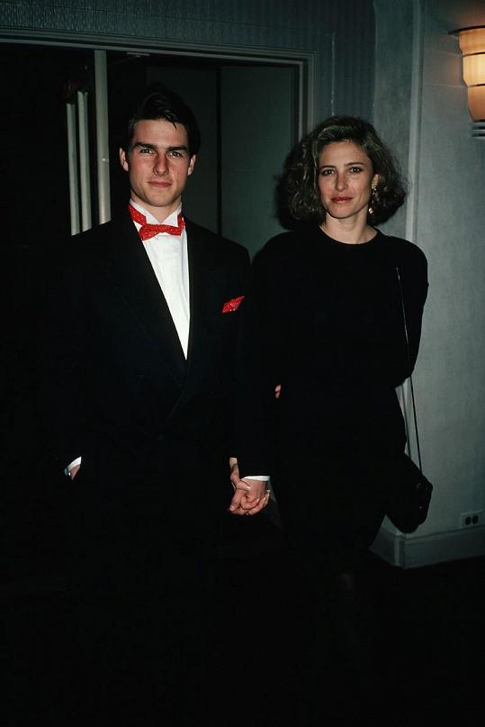 Tom Cruise byl manželem Mimi Rogers v letech 1987-1990.