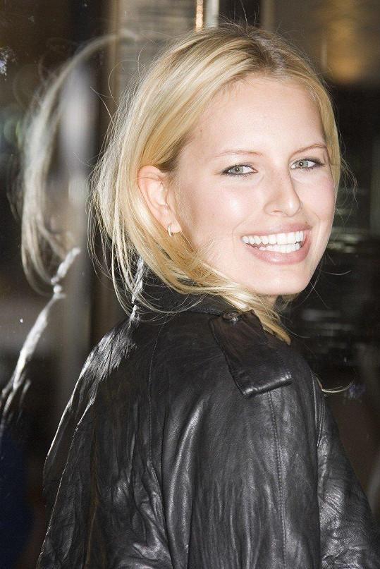 Karolína Kurková vždy dokázala okouzlit zářivým úsměvem.