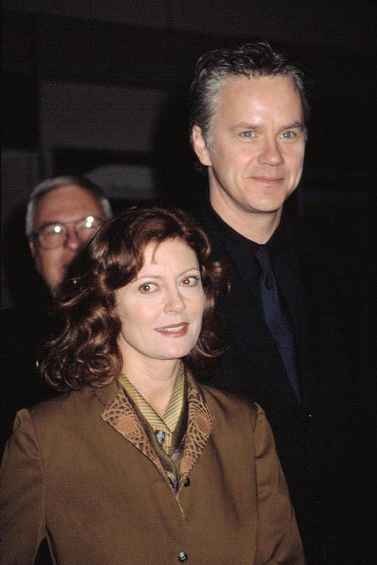 Susan Sarandon a Tim Robbins v roce 2002
