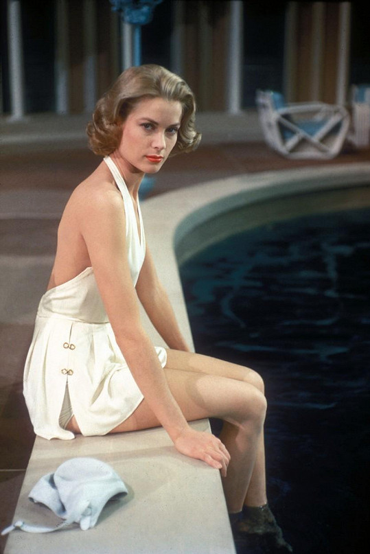 Grace v roce 1956, kdy se definitivně rozloučila s filmovou kariérou.