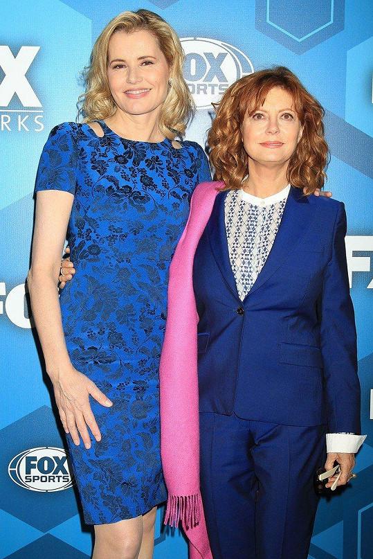Geena Davis a Susan Sarandon také rodily jako čtyřicátnice.