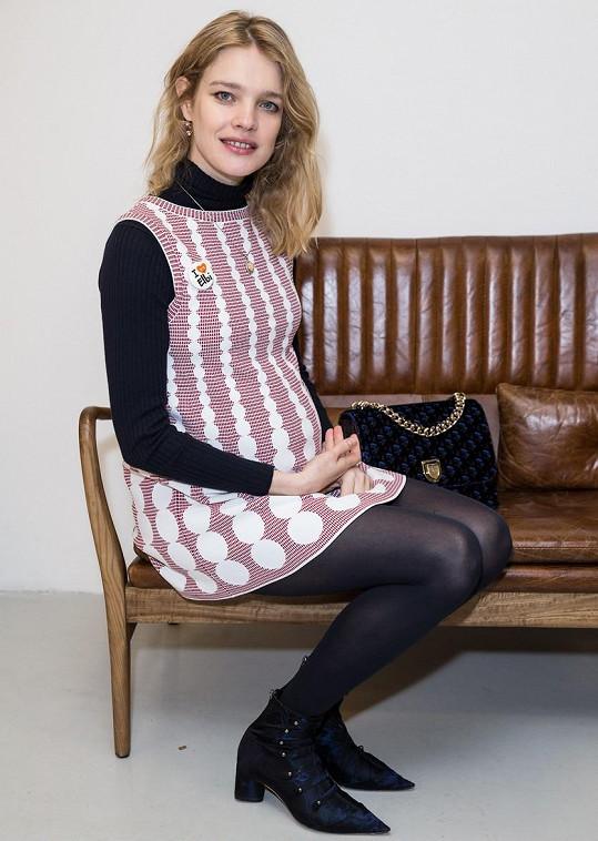 Natalia Vodianova čeká dalšího potomka.