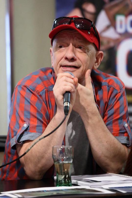 Režisér Libor Vaculík na Marka vzpomíná jako na usměvavého člověka, který nepokazil žádnou legraci.
