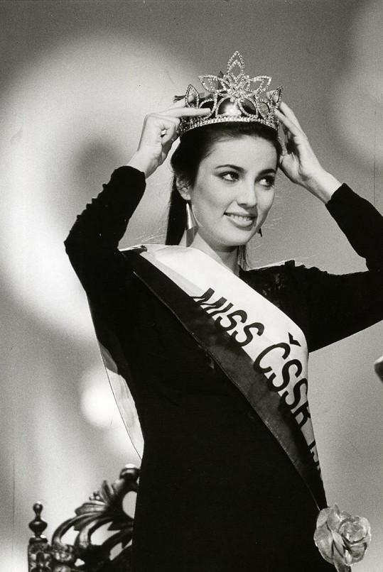 V roce 1989 Ivana Christová získala titul Miss Československo.