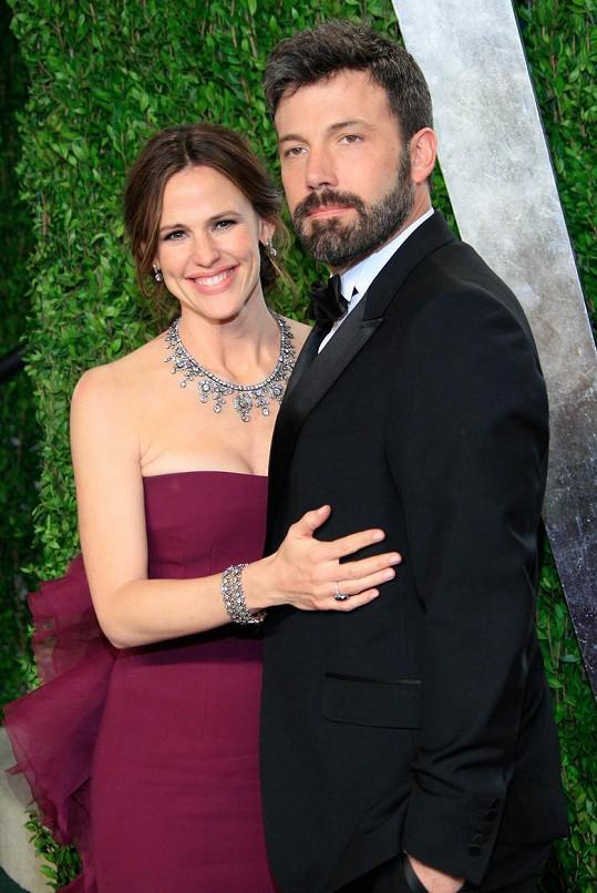 Manželství Bena Afflecka a Jennifer Garner prochází krizí.