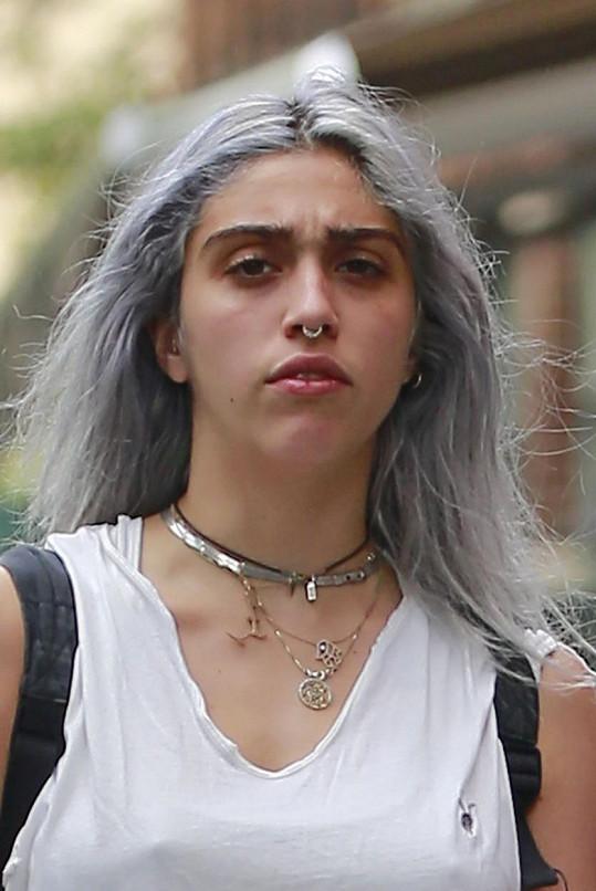 Madonnina dcera Lourdes opět změnila image.